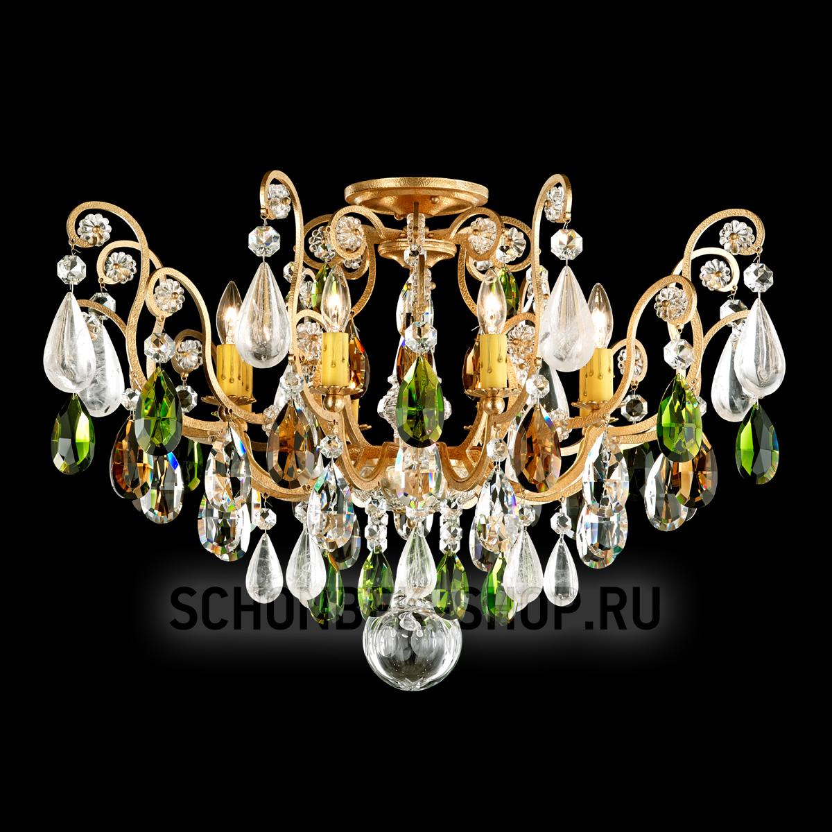 Фотография 1 - Светильник Schonbek Renaissance Rock Crystal 3585 ОS-22
